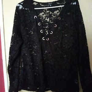Cleo lace blouse